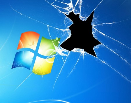 Desk  Wallpaper on Desktop Wallpaper Broken Windowsenjoy   Enjoy