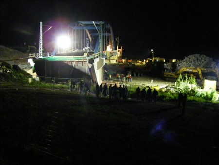 neue Eisenbahnbrücke Reutlingen Metzingen