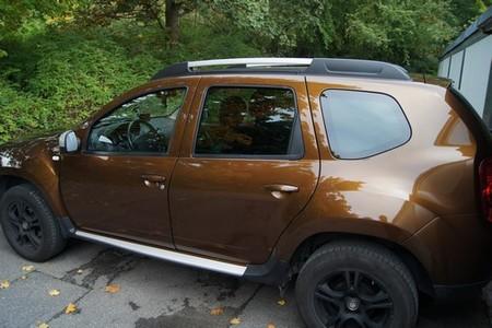 Dacia Duster poliert