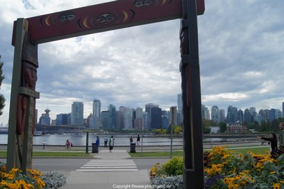 Downtown View from Stanley Park