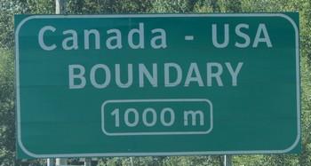 Grenze USA zu Kanada