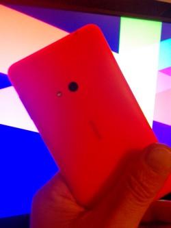 Lumia 625 Rückseite