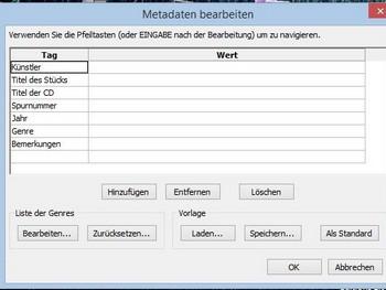 metadaten-eingabe