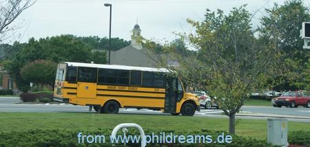 Ein Schulbus in Georgia