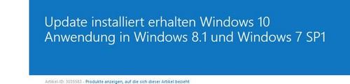 Screenshot Microsoft Support Seite