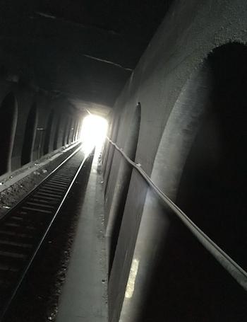 tunnel foto