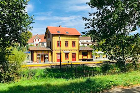 Bahnhof Foto