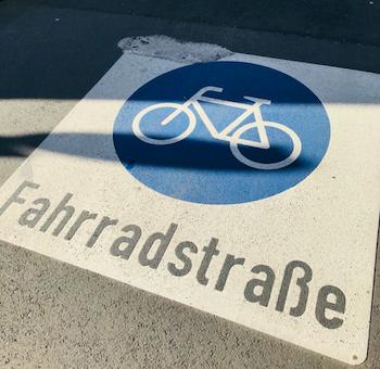 Fahrradstrasse Foto