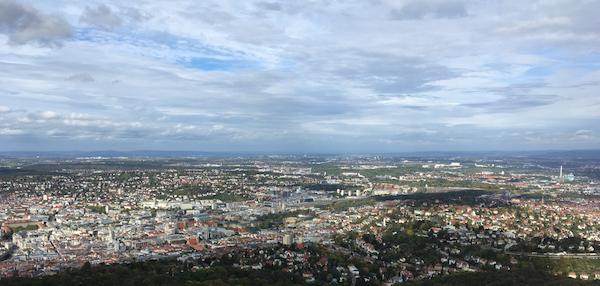 Aussicht Stuttgart